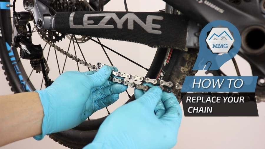 How to replace the chain on your MTB