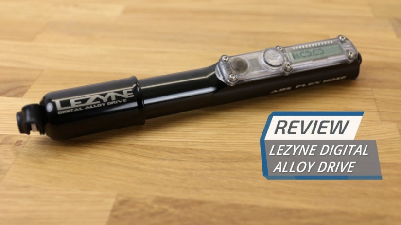 Lezyne Digital Alloy Drive Mini Pump Review